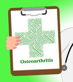 Osteoarthritis Illness Indicates Degenerative Joint Disease  Royalty Free Stock Image