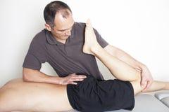 Osteopatía Foto de archivo libre de regalías