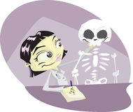 Osteopath διανυσματική απεικόνιση