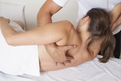 Osteopathic medicine Royalty Free Stock Photos