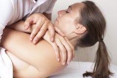 Osteopathy Imagens de Stock