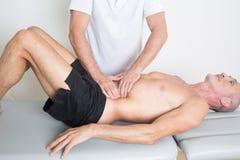 osteopathy Fotografia de Stock