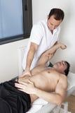 Osteopatia Immagine Stock