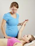 Osteopatii traktowanie Zdjęcie Royalty Free
