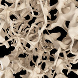 Osteoporosis bone structure. Scientific illustration - osteoporosis bone structure Stock Images