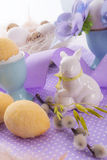Oster cake in the chicken egg Royalty Free Stock Image