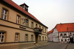 Osterburg Town Hall Royalty Free Stock Photography