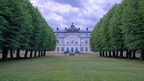 Osterbybruk herrgård royaltyfria foton
