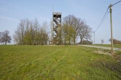 Ostercappeln (Germania) - torre di osservazione di Venner Fotografia Stock