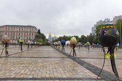 Osterei-Festival Stockbilder