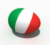 Osterei - Markierungsfahne von Italien Stockbilder