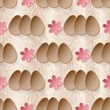 Osterei-Vektorhintergrund Lizenzfreie Stockbilder