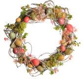 Osterei Wreath Lizenzfreie Stockfotografie