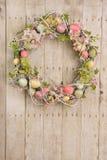Osterei Wreath stockfotos