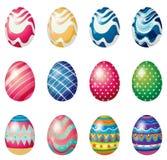 Ostereier für das Ostersonntag Ei jagen stock abbildung