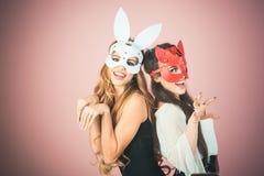 Osterhase, Playboy, Freundschaft stockbilder