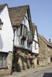 Osteria in Lacock. Il Wiltshire. L'Inghilterra fotografie stock libere da diritti