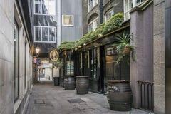 Osteria a Londra, Regno Unito fotografia stock libera da diritti