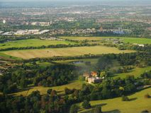 Osterley Park is a large park in London. There is Osterley Mansion. stock images