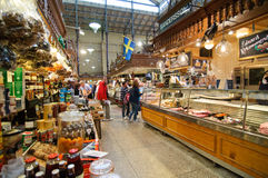 Ostermalms Saluhall Stockholm Royalty Free Stock Photo