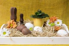 Ostern-Anordnung Lizenzfreie Stockbilder