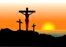 Ostern-Auferstehung lizenzfreie abbildung