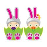 Ostern-Baby Lizenzfreies Stockbild