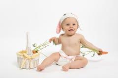 Ostern-Baby-Häschen stockbilder