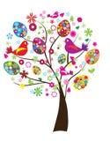 Ostern-Baum lizenzfreie abbildung
