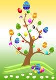 Ostern-Baum Lizenzfreies Stockbild