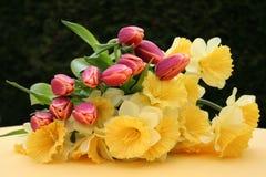 Ostern-Blumenstrauß Stockfoto