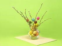 Ostern-Blumenstrauß Stockfotos
