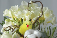 Ostern-Blumenstrauß - Sonderkommando Stockfotografie