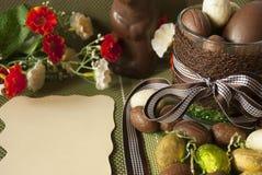 Ostern-Bonbons Stockbild