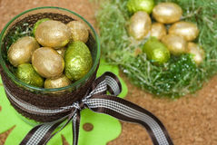 Ostern-Bonbons Lizenzfreie Stockfotografie