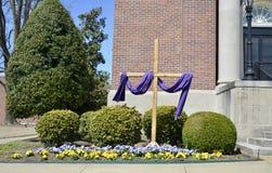 Ostern Christian Cross Stockbilder