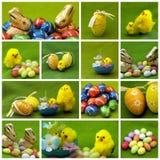 Ostern-Collage Lizenzfreie Stockfotos