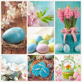 Ostern-Collage lizenzfreies stockbild