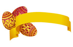 Ostern-Dekoration stock abbildung