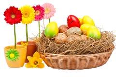 Ostern-Dekoration Stockbild