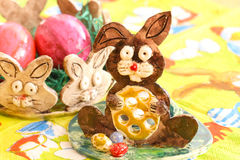 Ostern-Dekoration Stockbild