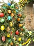 Ostern-Dekoration im Freien Lizenzfreies Stockbild