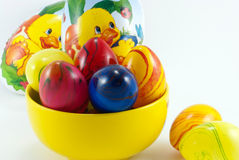 Ostern-Dekorationen lizenzfreie stockbilder