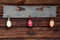 Ostern-Dekorationen Lizenzfreie Stockfotos