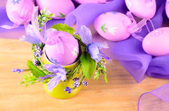 Ostern-dekorative Eier Stockbild