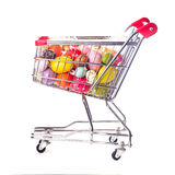 Ostern-Einkaufen Lizenzfreie Stockbilder