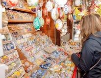 Ostern-Einkaufen Lizenzfreies Stockbild