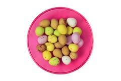 Ostern färbte Eier lizenzfreies stockbild