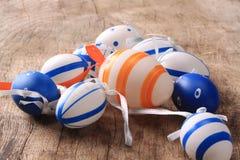 Ostern färbte Eier Stockbilder