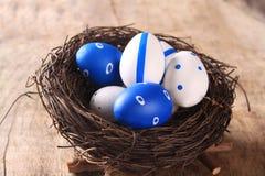 Ostern färbte Eier Lizenzfreie Stockbilder